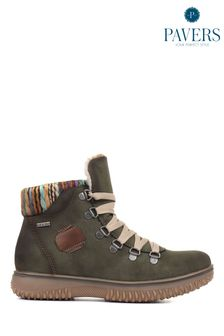 Pavers Ladies Lace-Up Trainers Boots