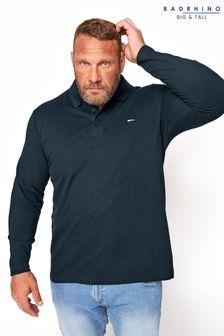 BadRhino Essential Long Sleeve Polo Shirt