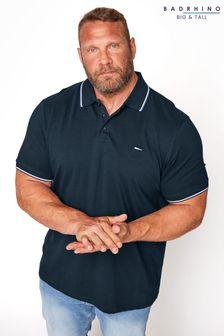 BadRhino Essential Tipped Polo Shirt