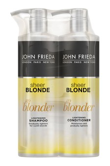 John Frieda Sheer Blonde Go Blonder Lightening Shampoo And Conditioner Duo