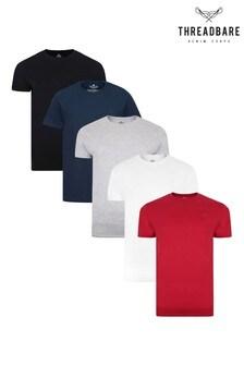 Threadbare Core T-Shirts 5 Multi Pack
