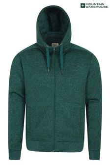 Mountain Warehouse Nevis Mens Fleece Lined Hoodie