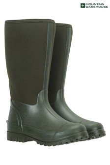 Mountain Warehouse Womens Long Neoprene Waterproof Mucker Boots