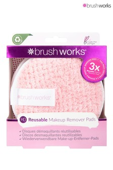 Brush Works HD Reusable Makeup Remover Pads (Pack of 3)