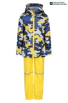 Mountain Warehouse Kids Raindrop Waterproof Jacket and Trousers Set