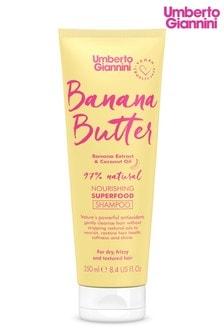 Umberto Giannini Banana Butter Nourishing Superfood Shampoo 250ml
