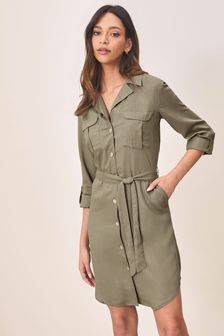 Lipsy Tencel Shirt Dress