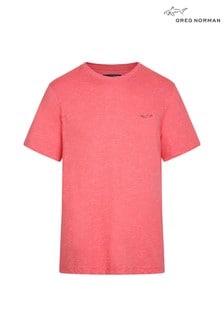 Greg Norman Shark Slub T-Shirt Male