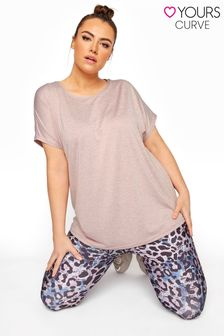 Yours Active Dip Back Top