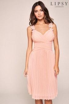 Lipsy Millie Lace Midi Dress