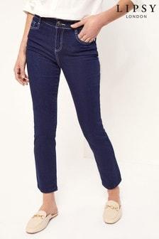 Lipsy Scarf Belt Slim Leg Jean
