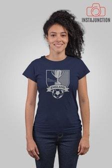Instajunction England Football Championship Euros Supporter Trophy Women's T-Shirt