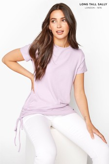 Long Tall Sally Ruched Side T-Shirt