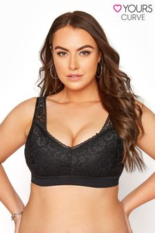 Yours Seamfree Lace Bralette