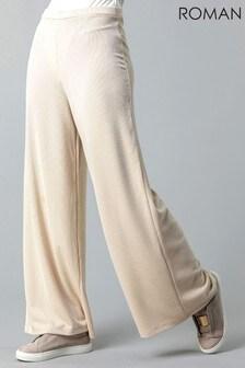 Roman Soft Jersey Wide Leg Lounge Pants