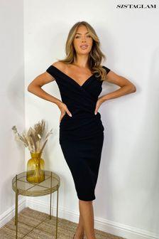 Sistaglam Loves Jess Wrap Dress