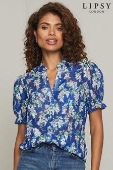Lipsy Short Sleeve Printed Shirt