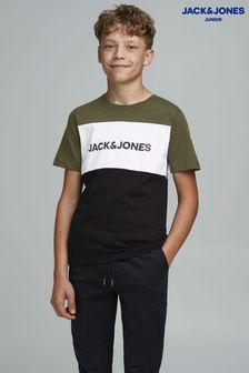 Jack & Jones Junior Colourblock Logo T-Shirt