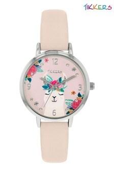 Tikkers PU Leather Llama Watch Set ATK1068