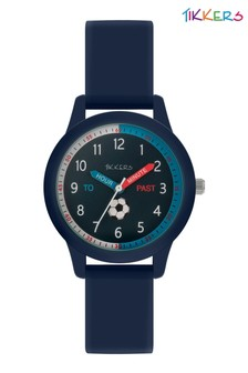 Tikkers Navy Silicone Football Set