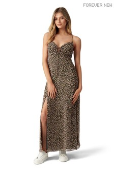 Forever New Carla Ruched Midi Dress