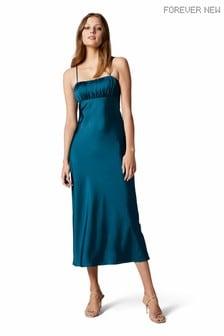 Forever New Christina Strappy Split Midi Dress