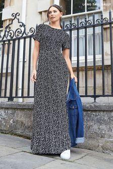 Long Tall Sally Dalmation Print Midaxi Dress