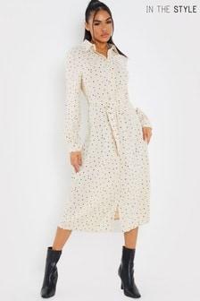 In The Style Jac Jossa Maxi Shirt Dress