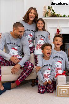 Threadbare Cotton Matching Family Christmas Pyjama Set
