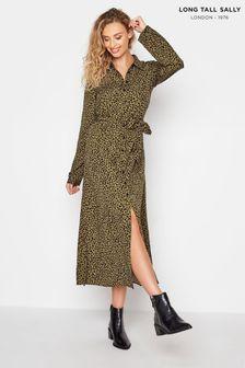 Long Tall Sally Spot Print Shirt Dress