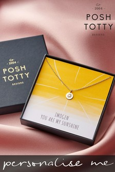 Personalised Necklace Gift Box by Posh Totty Designs
