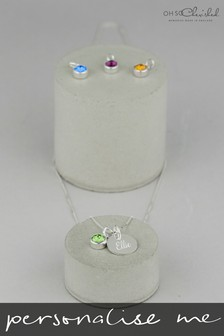 Personalised Birthstone Necklace by Oh So Cherished