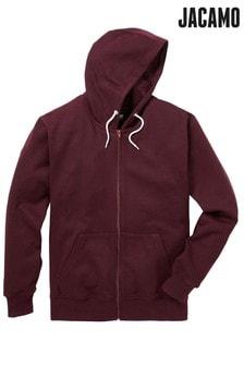 Jacamo Capsule Zip Through Hooded Top