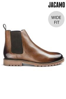 Jacamo Wide Fit Chelsea Leather Boots
