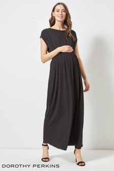Dorothy Perkins Shirred Jersey Maxi Maternity Dress
