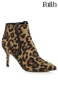 Faith Heeled Ankle Boots