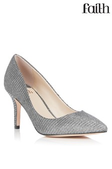574b4e56e56 Silver Shoes | Silver Embellished Shoes | Next Australia