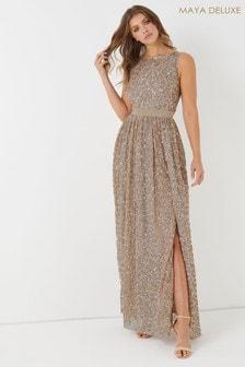 Maya All Over Embellished Maxi Dress