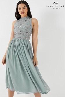 Angeleye Midi Dress