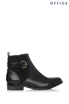 Office Avalon Croc Ankle Boot