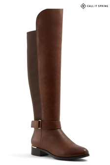 Call It Spring Knee High Riding Boots