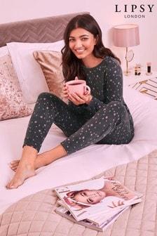 Lipsy Star Print Loungewear Set