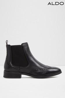Aldo Leather Blend Chelsea Ankle Boots
