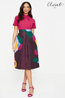 Closet Grandad Collar Dress