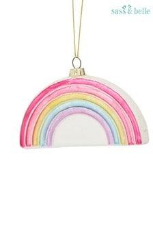 Sass & Belle Rainbow Christmas Bauble