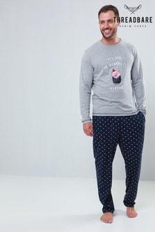 Threadbare Jersey Printed PJ Set