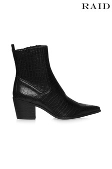 Raid Crocodile Ankle Boots