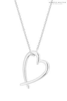 Simply Silver Heart Pendant