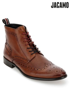 Jacamo Peter Werth Leather Lace Brogue Boot