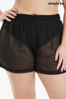 Simply Be Georgette Beach Shorts